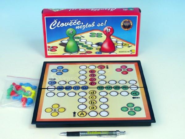 Magnetická hra - Člověče, nezlob se! společenská hra v krabici