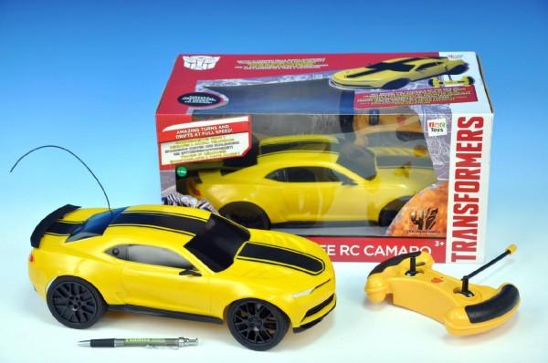Auto RC Bumblebee Transformers 27/40MHz plná funkce 35cm na vysílačku na baterie