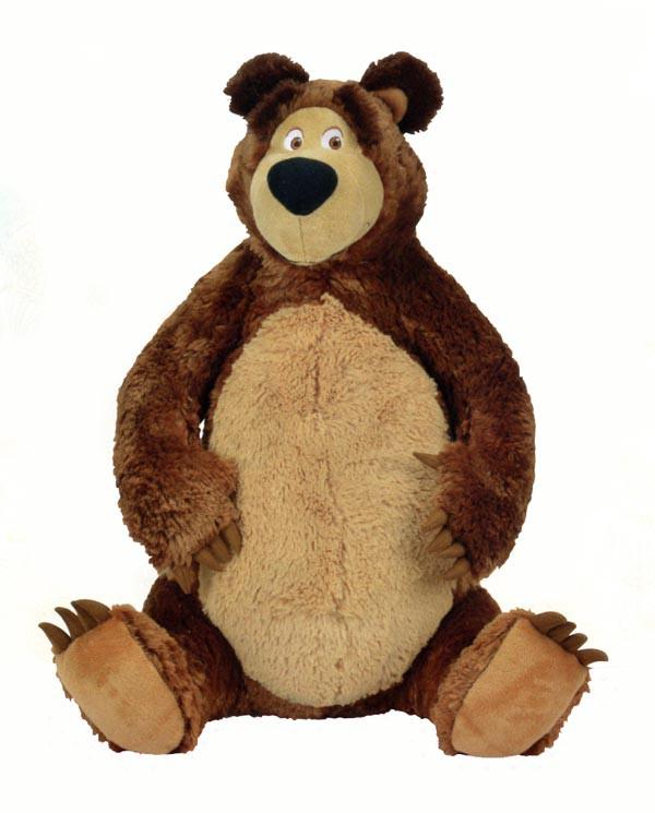plyšový medvěd Míša 50 cm/Máša a medvěd