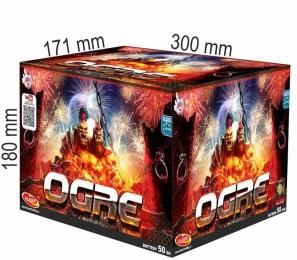 kompaktní ohňostroj OGRE 50 RAN