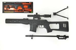 Puška odstřelovačka 120cm se zvukem a světlem