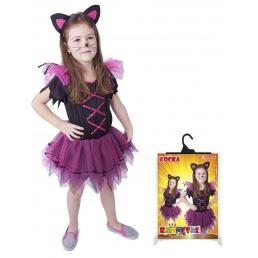 Karnevalový kostým kočka vel.S,M