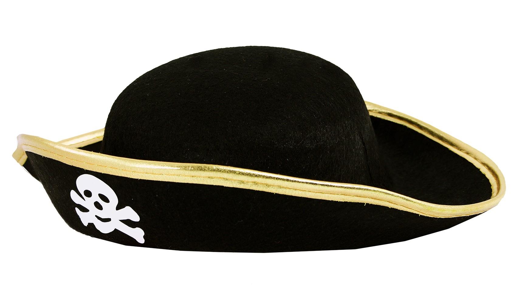 klobouk pirát s lebkou, dětský