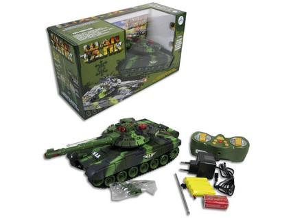 Tank na dálkové ovládání na baterie
