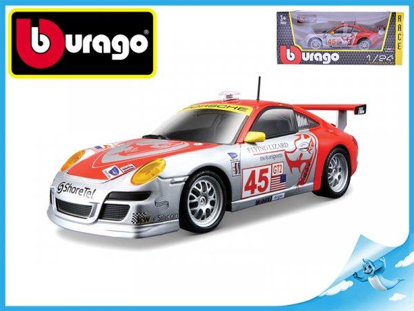 Bburago 1:24 RACE Porsche 911 GT3 RSR v krabičce