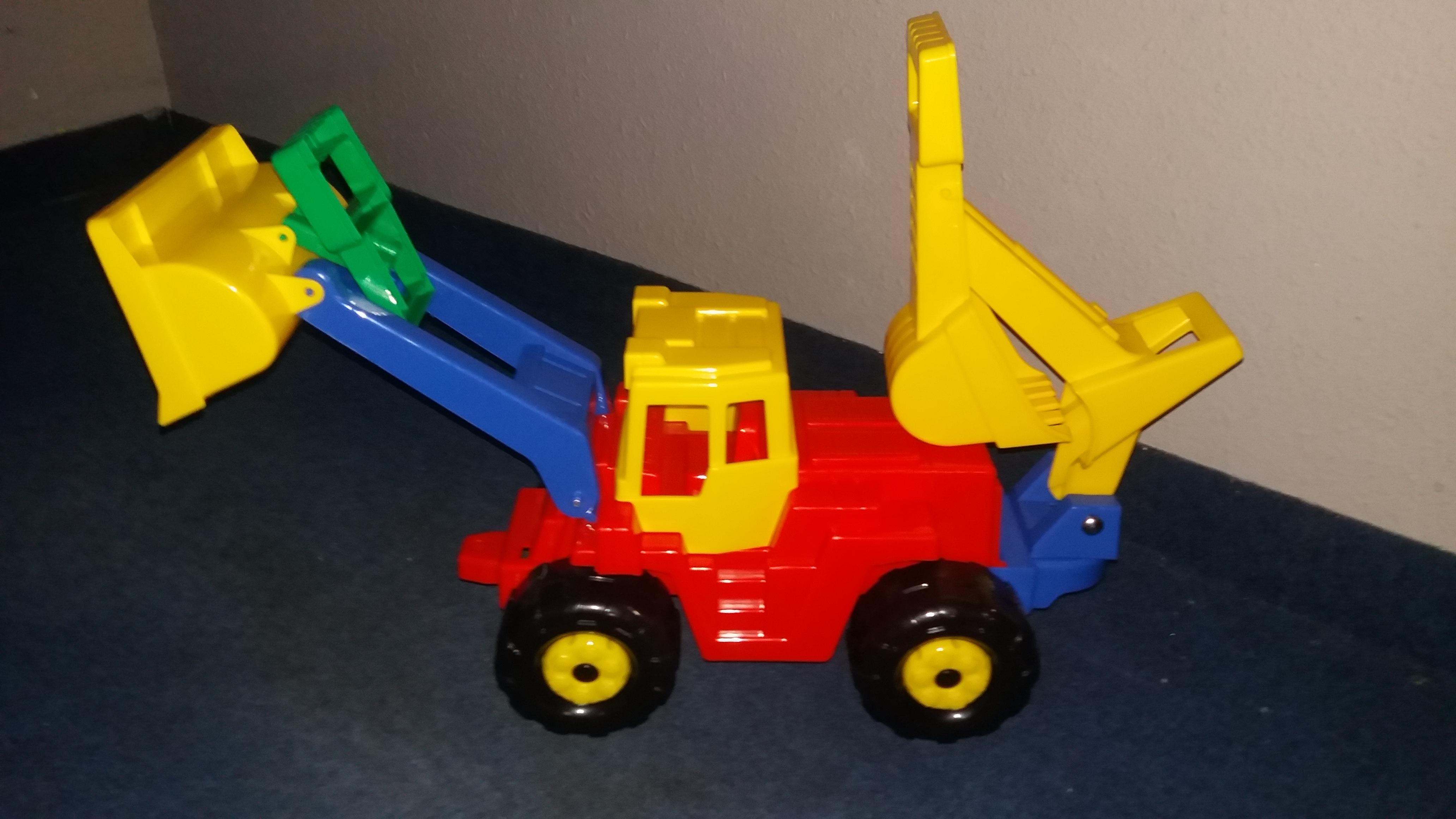 Traktor s Bagrem Gigant duplo