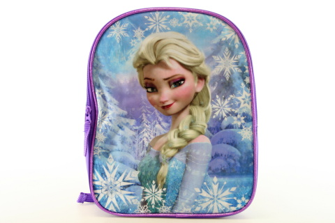 Fotografie Batoh dětský Frozen (Ledové Království) na zip s poutkem s popruhy na záda v sáčku