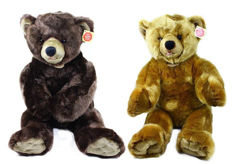 plyšový medvěd sedící, 2 druhy, 61 cm