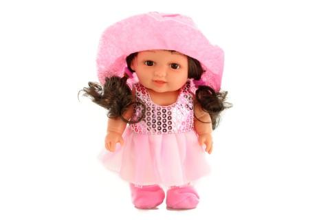 Fotografie Panenka malá s kloboukem