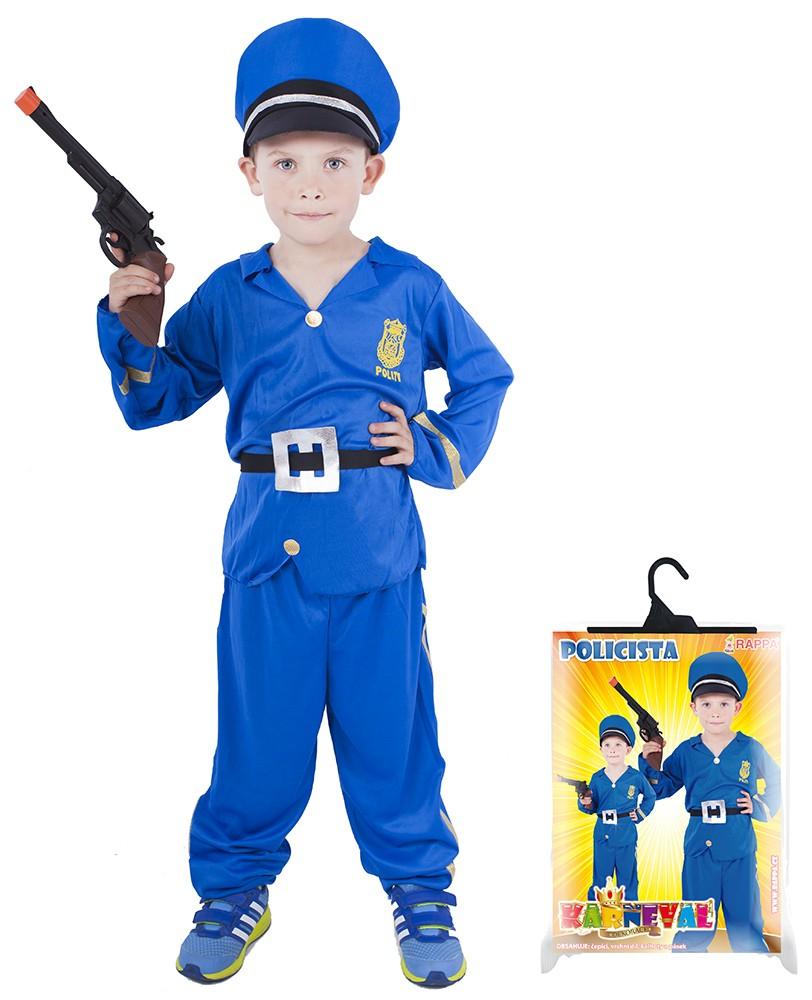 Fotografie karnevalový kostým policista vel. M
