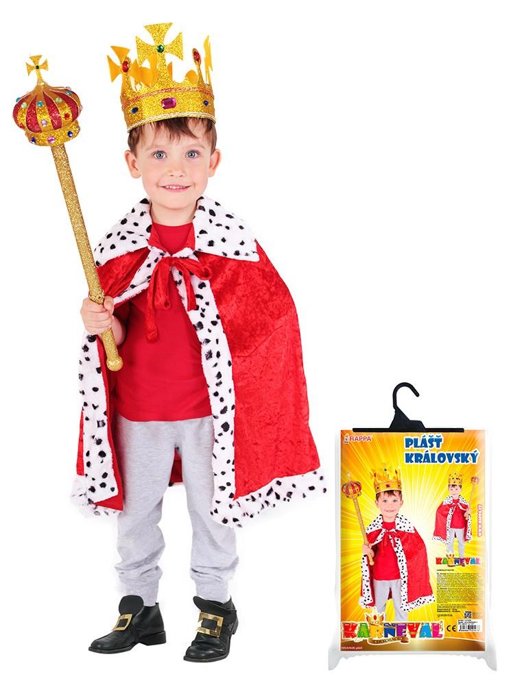Fotografie plášť královský s hermelínem