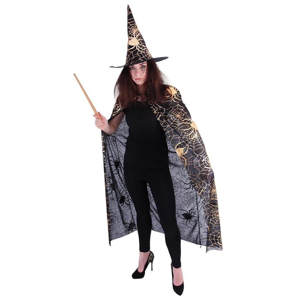 plášť + klobouk čarodějnický pro dospělé 27032138b9