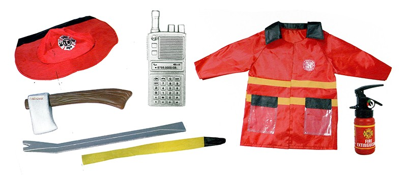 Fotografie karnevalový kostým hasič / požárník