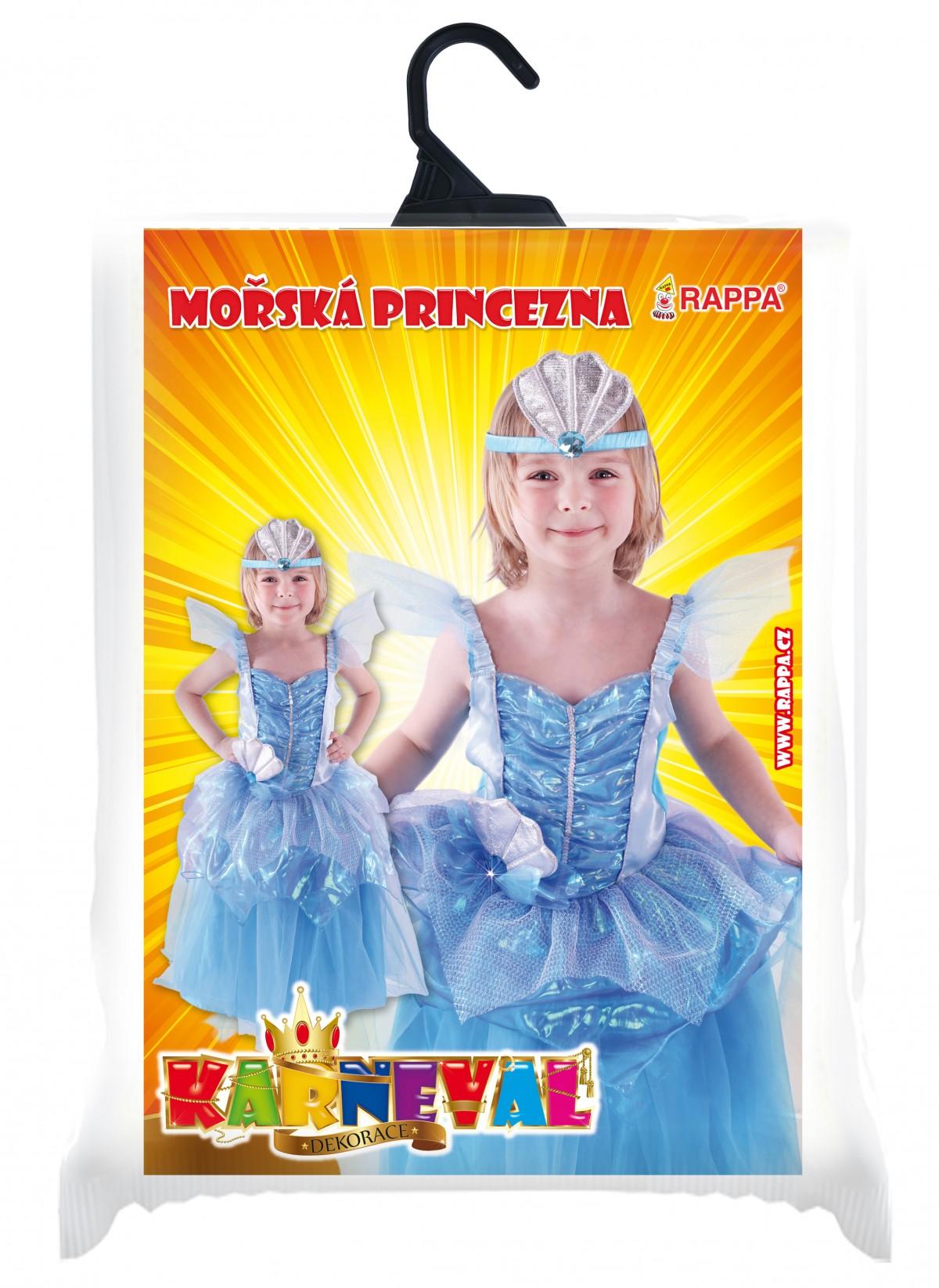 Fotografie karnevalový kostým mořská princezna, vel. S