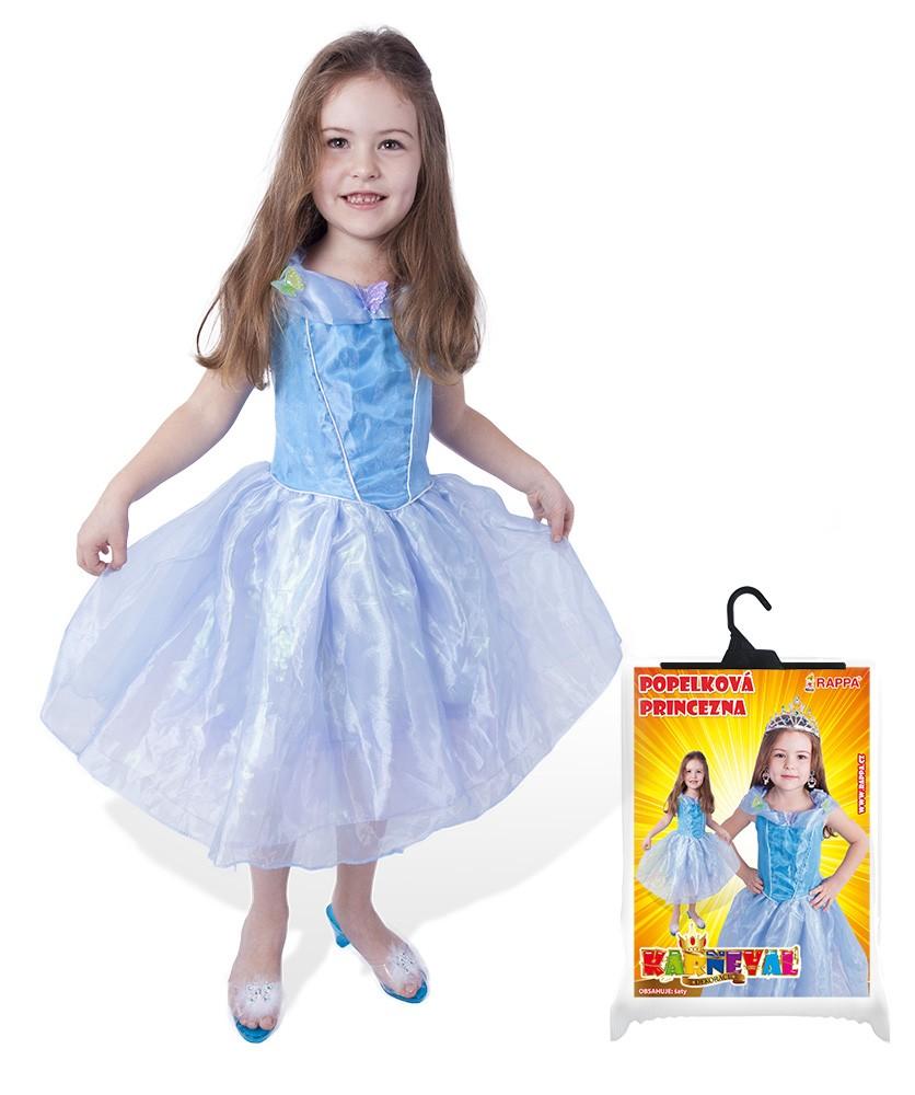 karnevalový kostým princezna s motýlky