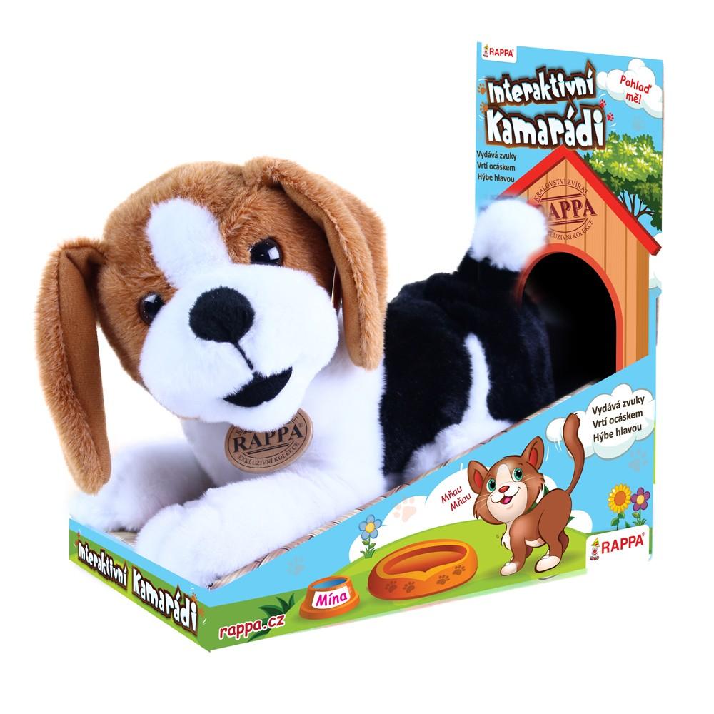 plyšový kamarád pes Bobík interaktivní