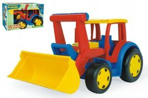 Fotografie Auto/Traktor Gigant nakladač plast 55cm v krabici Wader