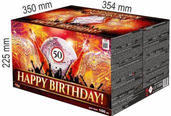 Vše nejlepší k narozeninám 100 ran