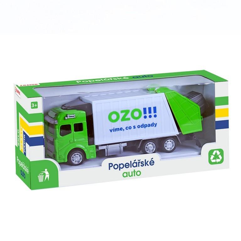 Auto popeláři kovové OZO!!! Víme, co s odpady