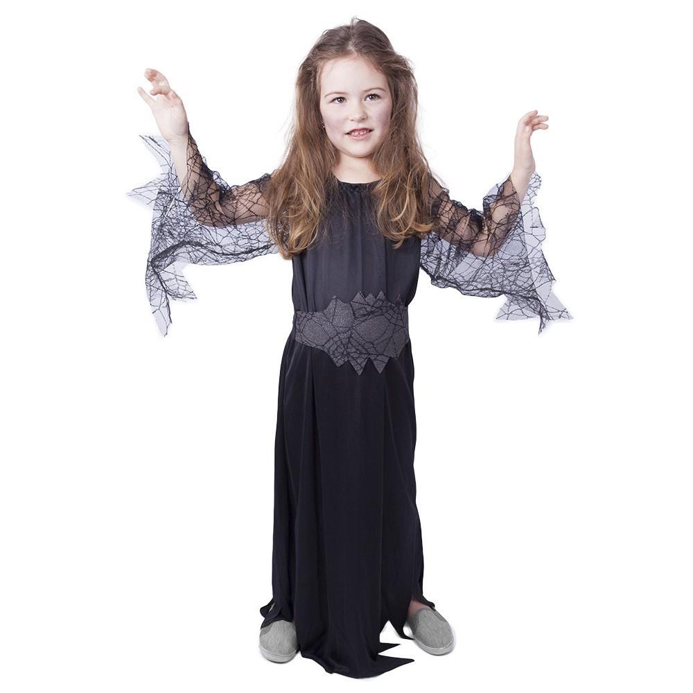 karnevalový kostým čarodějnice černá vel. M