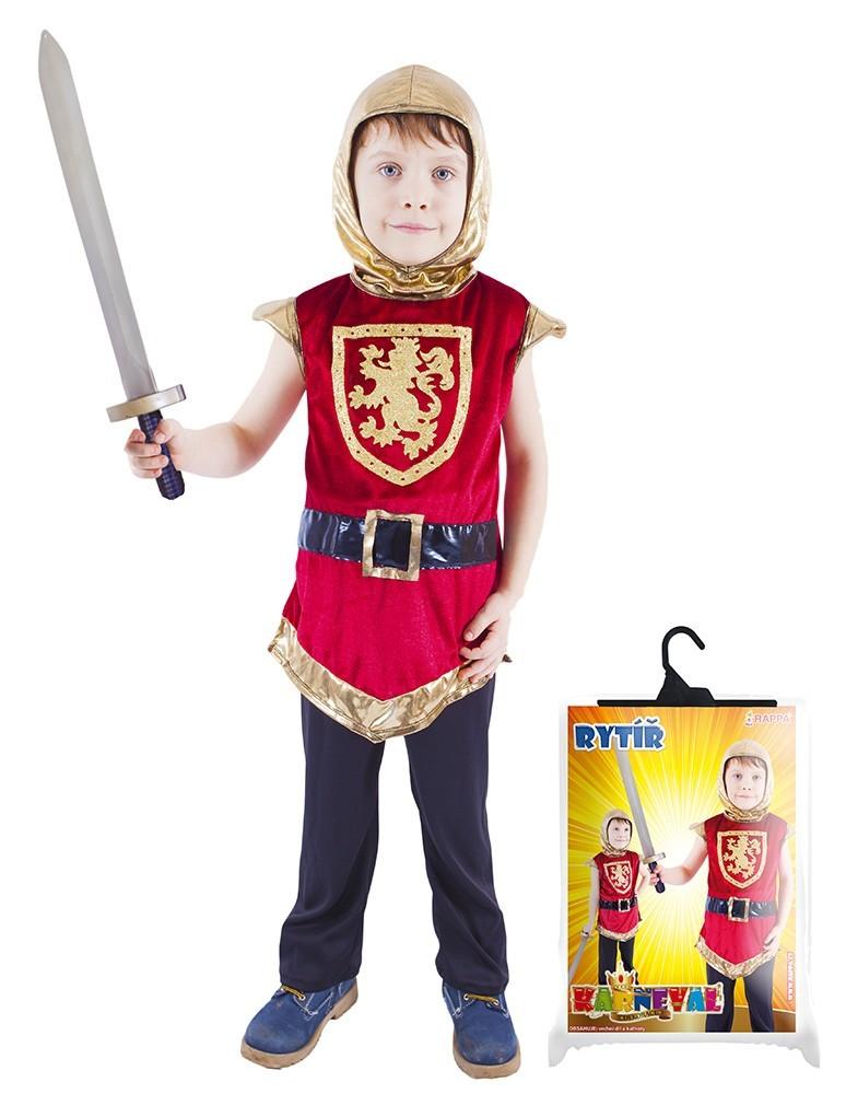 karnevalový kostým rytíř s erbem, vel. M