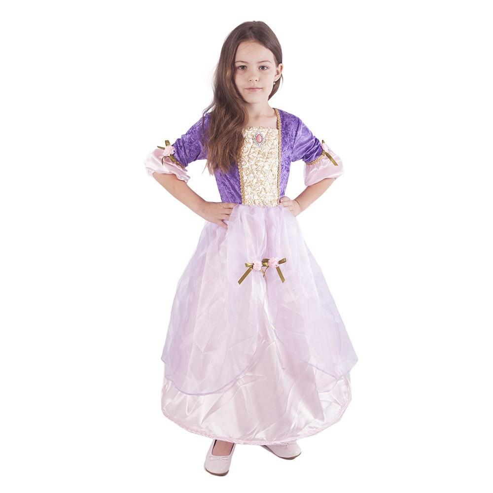 kostým princezna Fialka vel. M r