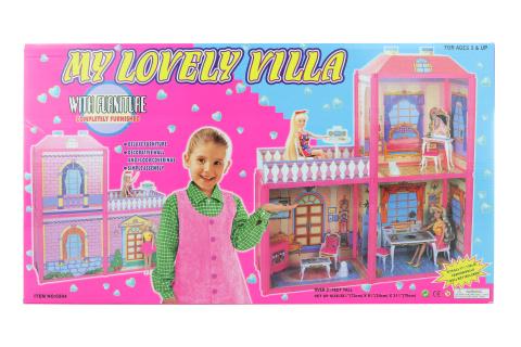 Fotografie Domek pro panenky menší