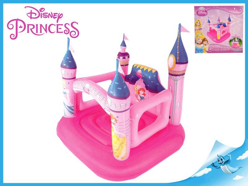 Skákací hrad Disney Princezny nafukovací 157x147x163cm max.85kg 3-6let v krabičce