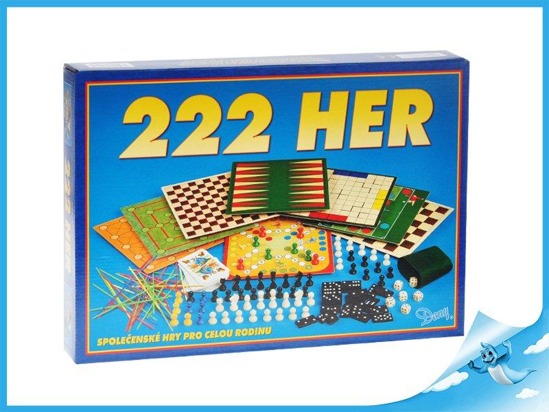 Fotografie Společenská hra 222 her v krabičce