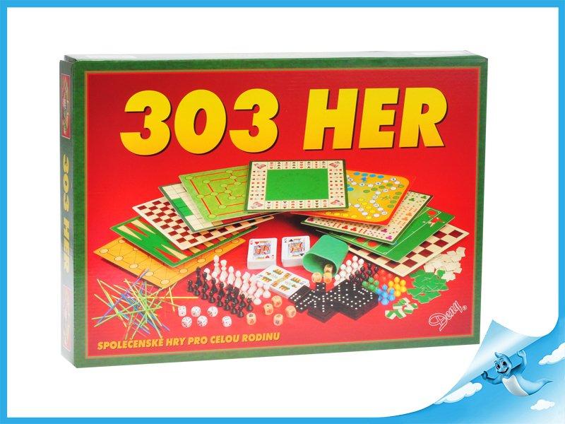 Fotografie Společenská hra 303 her v krabičce