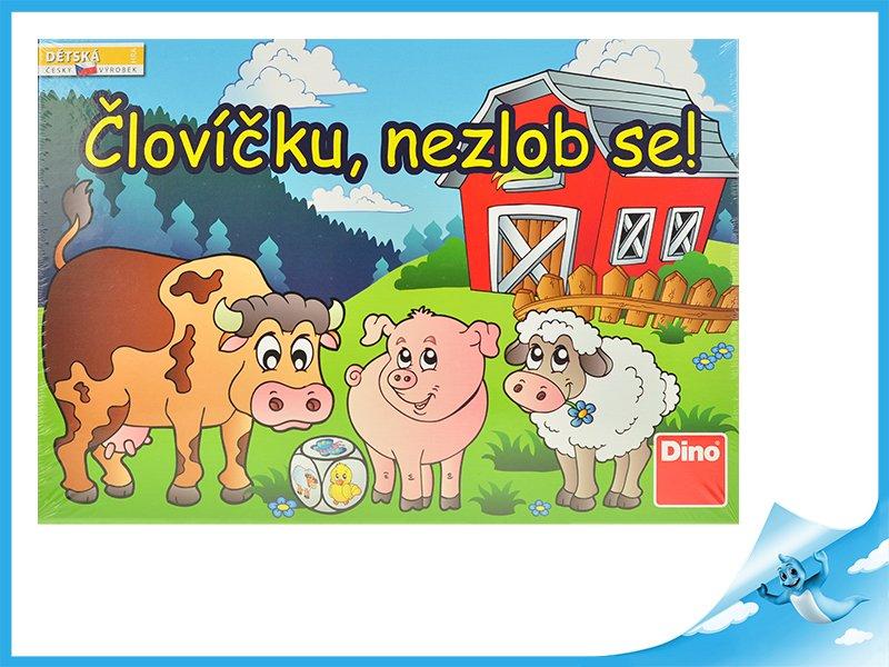 Fotografie ČLOVÍČKU NEZLOB SE Dětská hra