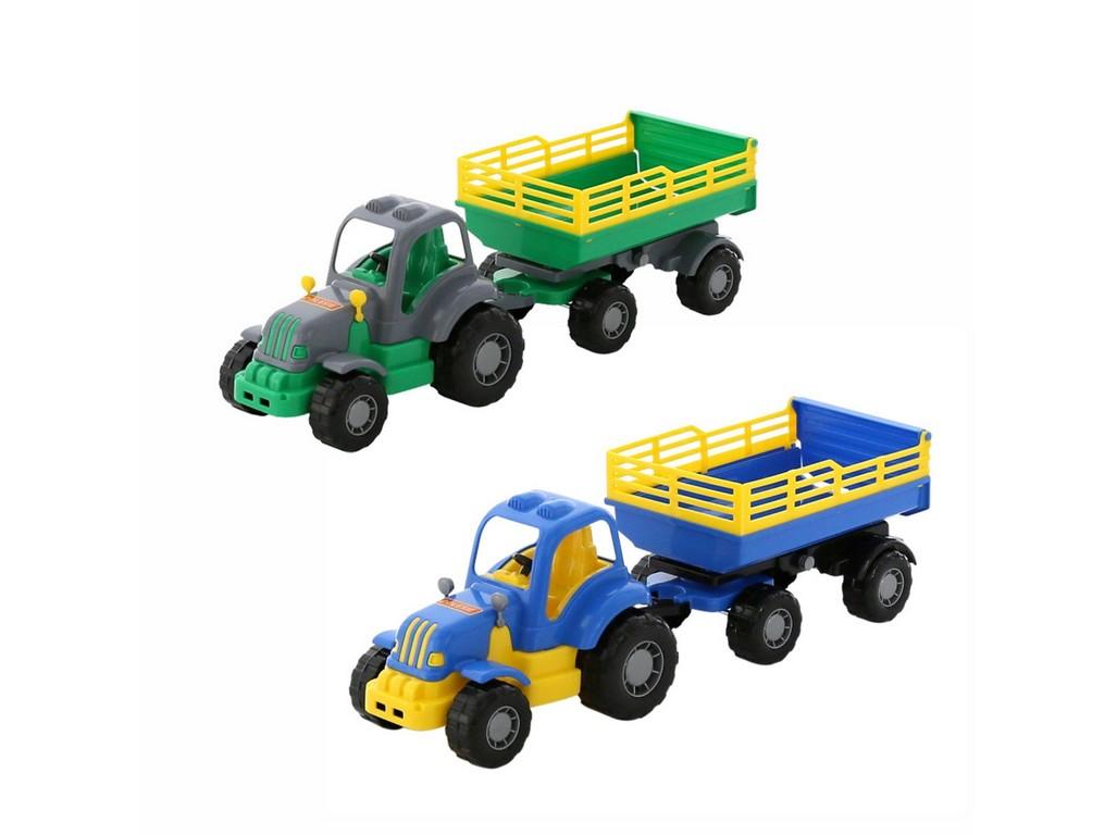Machr - traktor s přívěsem