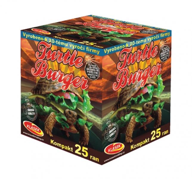 Turtle burger 25 ran kompakt