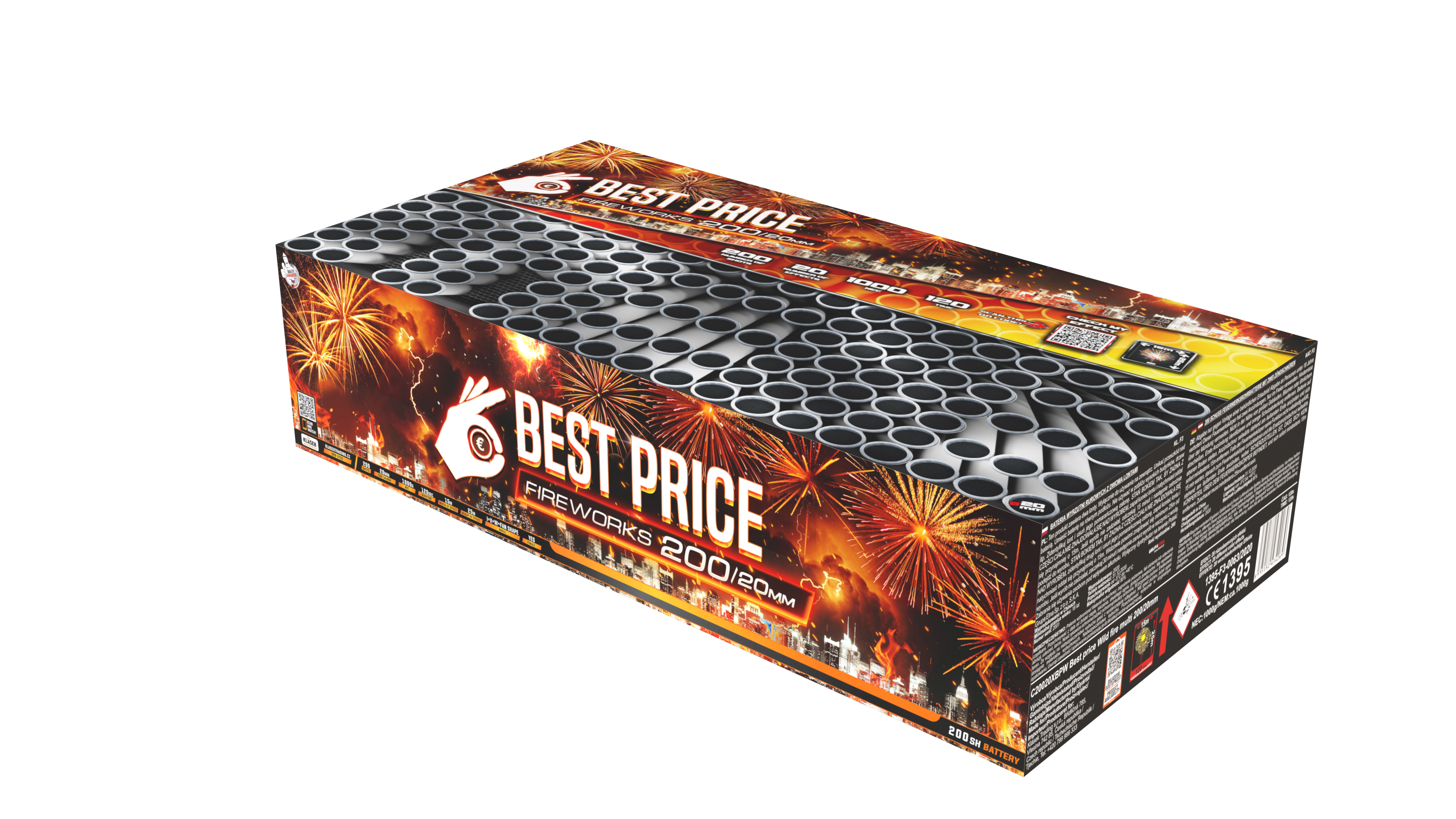 Best price Wild fire multi 200/20mm