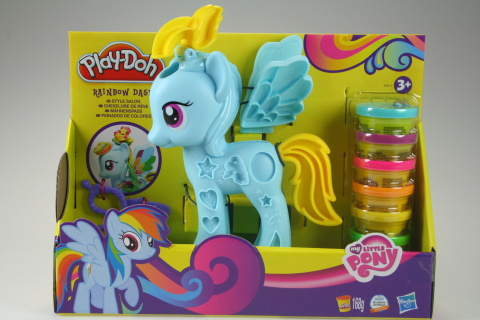 Play - Doh MLP Rainbow Dash stylistický salón